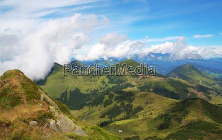 nie kitzbuehel alps panorama 4