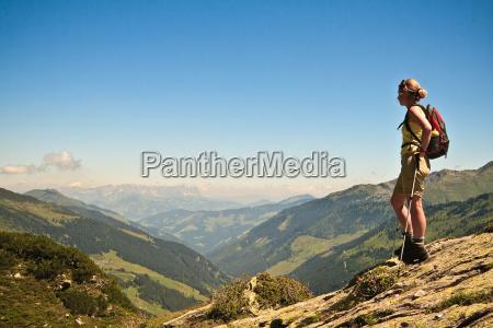 widok na alpy kitzbuehel