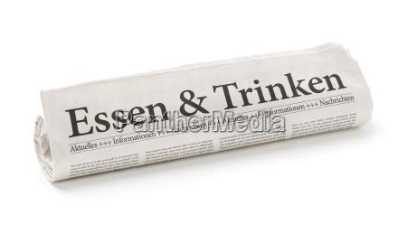 gazeta tageblatt jedzenie wyzywienie zywnosc jadalnia
