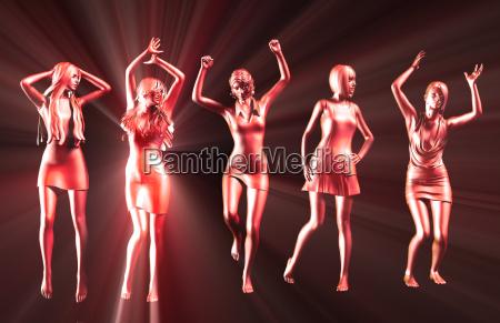 kobieta womane baba disco ludzie ludzi